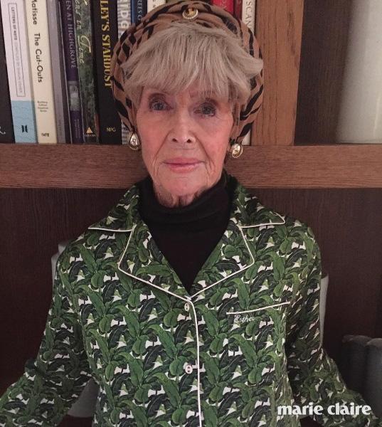 한나 웨일랜드가 뮤즈로 꼽는 그녀의 멋쟁이 할머니 나나.