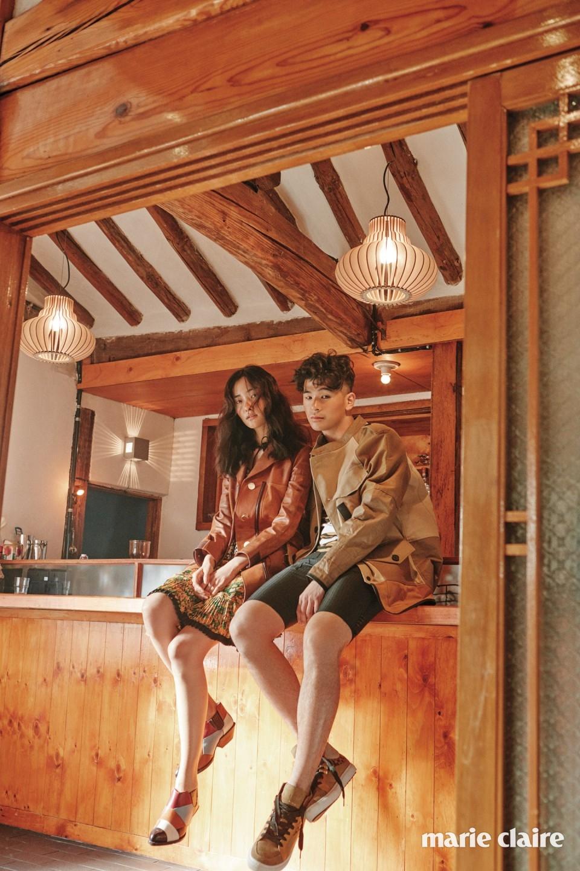 패션 화보: Wild Flower - 마리끌레르 코리아 2016년 3월호