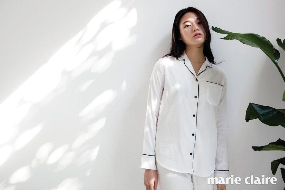잠옷인지 외출복인지? 슬립웨어 - 마리끌레르 2016년