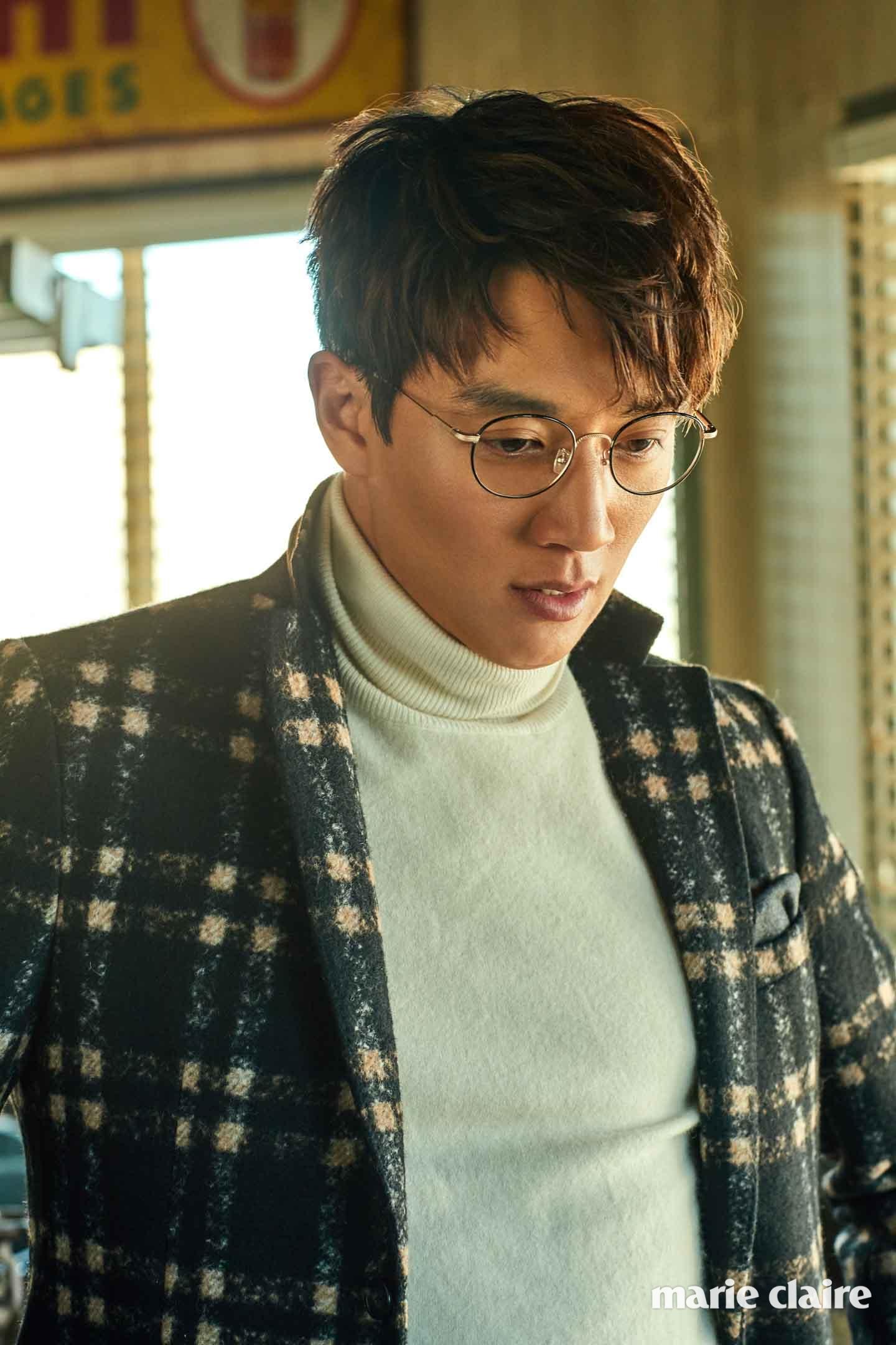 김래원 안경