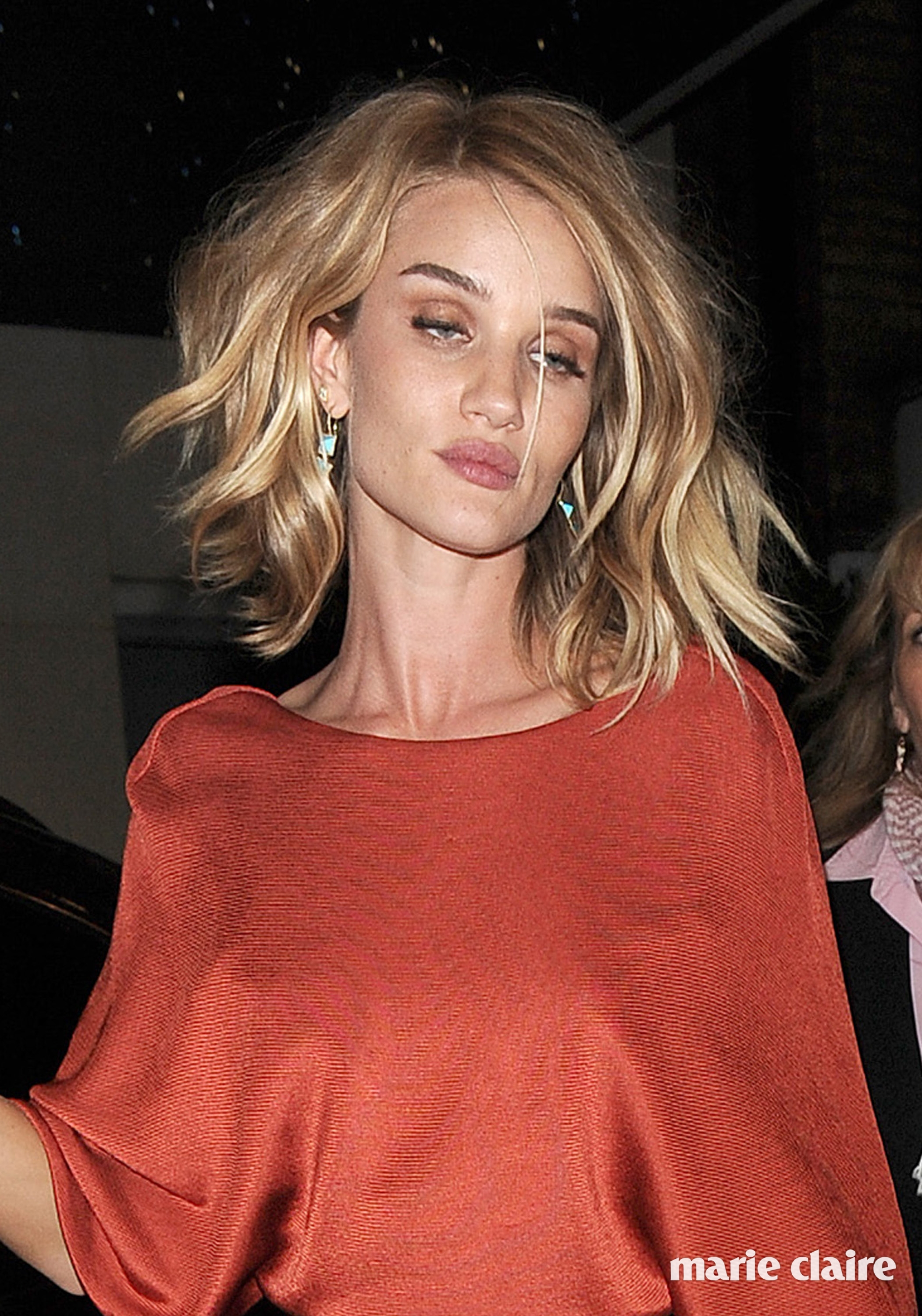 Rosie Huntington-Whiteley appears rather worse for wear, as she leaves a private party and heads back to her hotel. She was helped into her car by security at the venue Featuring: Rosie Huntington-Whiteley Where: London, United Kingdom When: 03 Jun 2015 Credit: Will Alexander/WENN.com