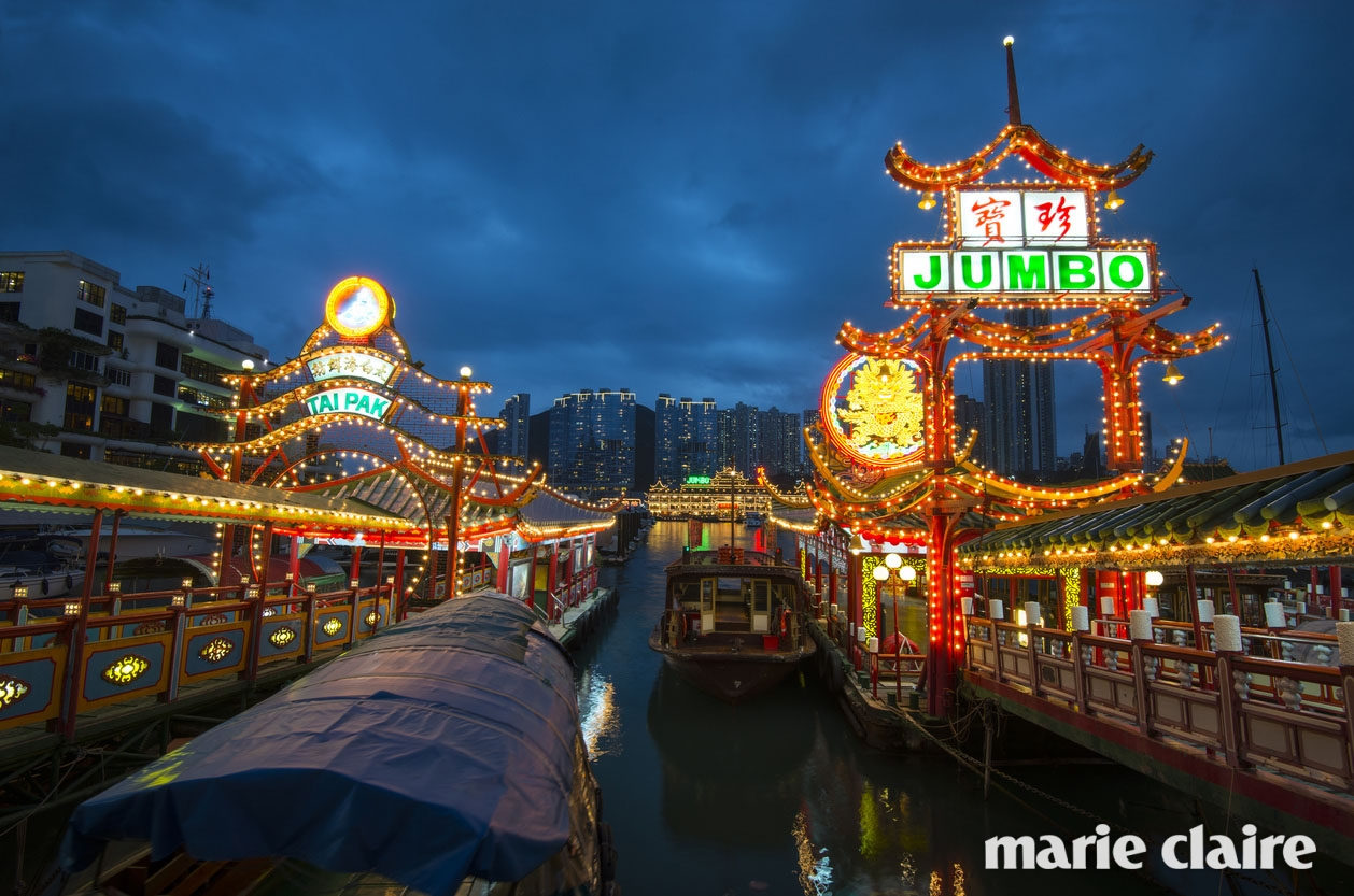 The Jumbo floating restaurant, Aberdeen, Hong Kong, China