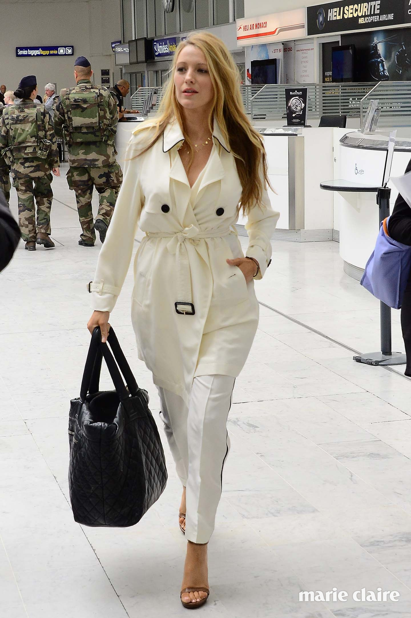 Blake Lively arrives at Nice Cote D'Azure airport ahead of the 2016 Cannes Film Festival Featuring: Blake Lively Where: Nice, France When: 09 May 2016 Credit: Radoslaw Nawrocki/WENN.com **Not available for publication in Poland**