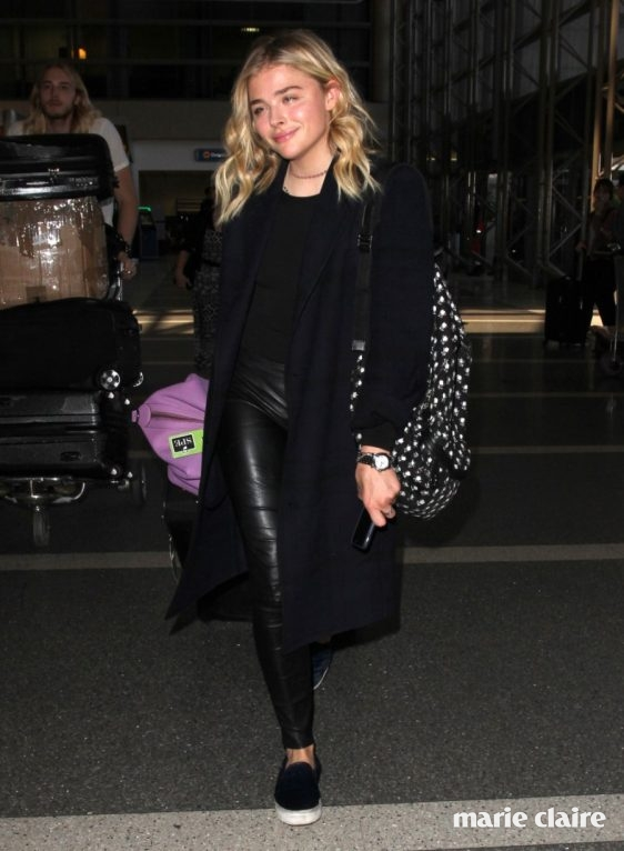 Chloe Grace Moretz arrives at Los Angeles International (LAX) Airport Featuring: Chloe Grace Moretz Where: Los Angeles, California, United States When: 20 Apr 2016 Credit: WENN.com
