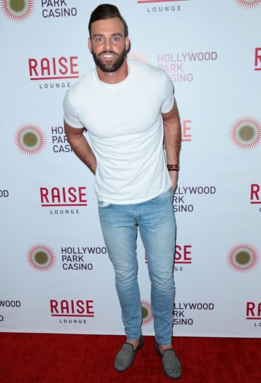 The Bachelor season finale viewing party at Hollywood Park Casino Featuring: Robby Hayes Where: Los Angeles, California, United States When: 13 Mar 2017 Credit: Guillermo Proano/WENN.com