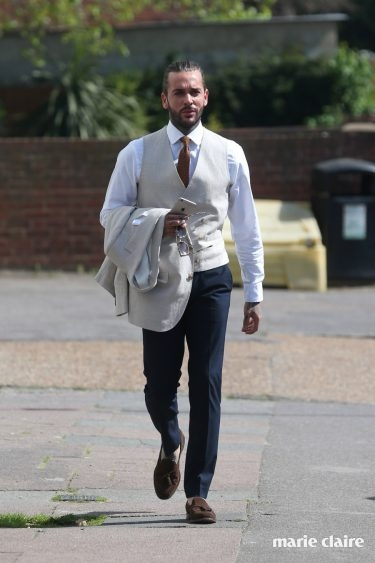 The cast of TOWIE filming for Gemma's Easter Ball Featuring: Pete Wicks Where: Corringham, United Kingdom When: 09 Apr 2017 Credit: WENN.com