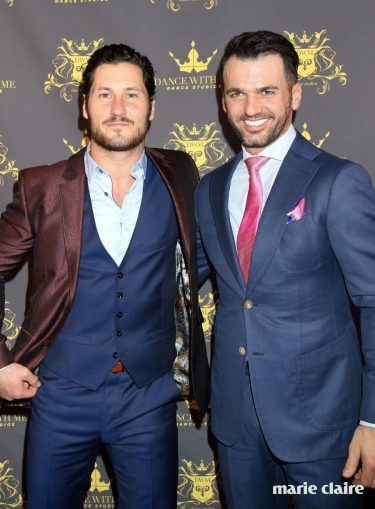 'Dancing with the Stars' professionals Maksim Chmerkovskiy, Valentin Chmerkovskiy, Tony Dovolani celebrate the grand opening of Dance With Me dance studio inside Tivoli Village Featuring: Valentin Chmerkovskiy, Tony Dovolani Where: Las Vegas, Nevada, United States When: 09 Mar 2017 Credit: DJDM/WENN.com