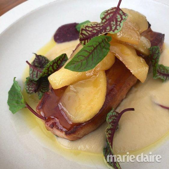 돼지고기 사과 포크밸리
