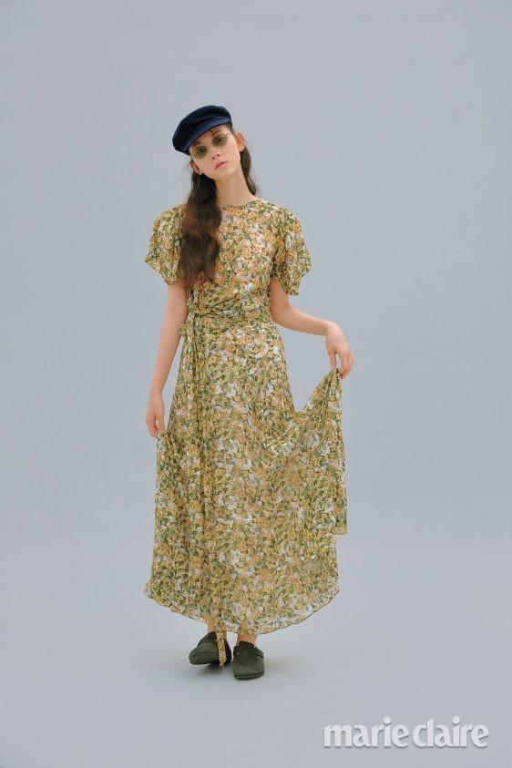 플로럴 프린트 드레스 이자벨마랑 젠틀몬스터 하이칙스 버켄스탁