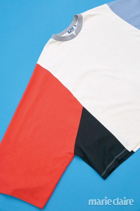 컬러블록스웨트셔츠 에스제이와이피 에스제이와이피스웨트셔츠