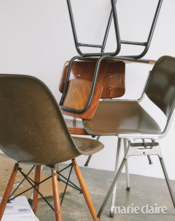 가을 뉴트럴컬러 의자