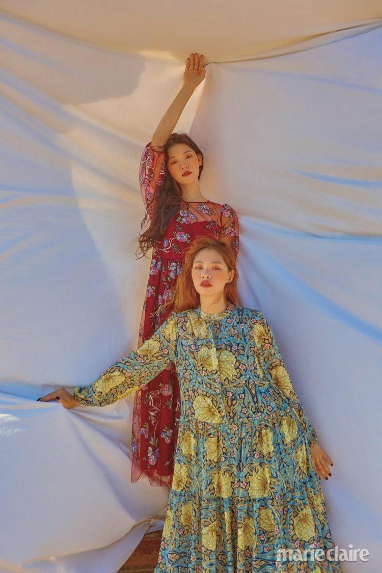 원피스 에이치앤엠 H&M 블루마린