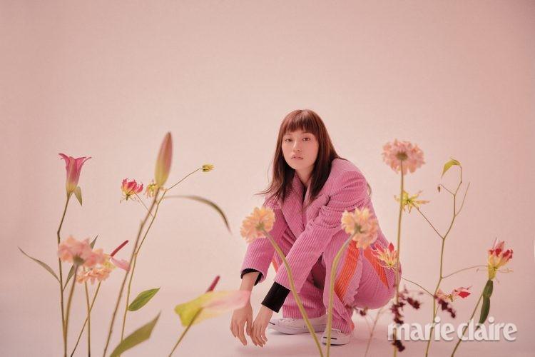 김도연 김도연화보 위키미키김도연 MSGM 렉토 컨버스