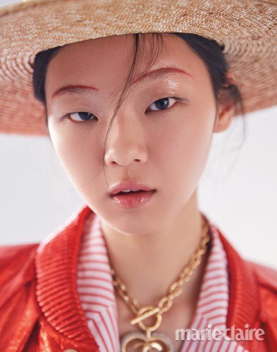 샤넬 김다솜 립글로스 모델 모델김다솜