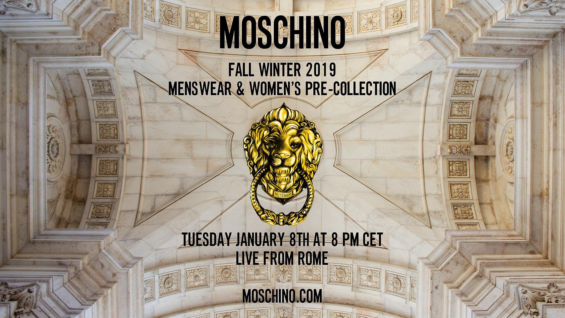 모스키노 컬렉션 2019FW