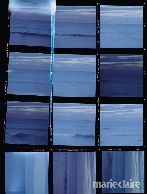 풍경 필름 바다