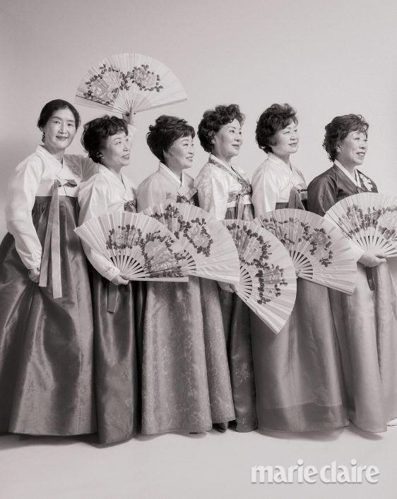 세계여성의날 여성의날 랑콤 한국무용 시니어자원봉사단