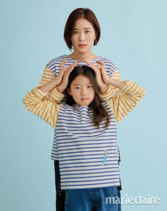 세계여성의날 여성의날 랑콤 모녀화보 김윤미 스타일리스트
