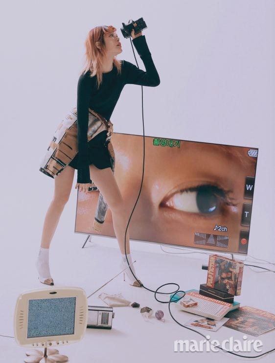 버버리 모델 안아름 크리에이티브디렉터