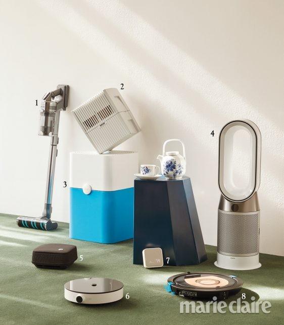 테크제품 공기청정기 무선청소기 로봇청소기