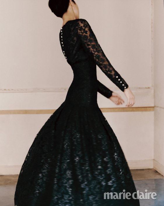 샤넬 드레스