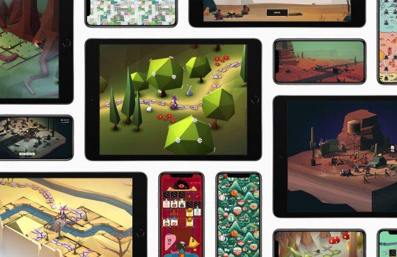 애플 아케이드 게임