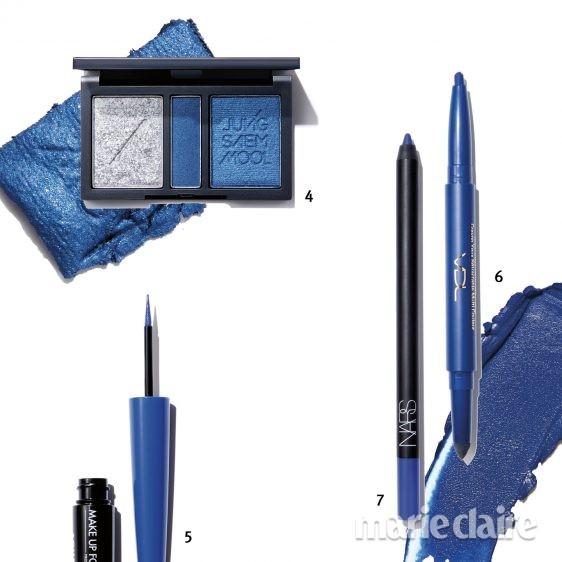블루 메이크업
