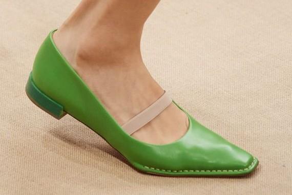 플랫 슈즈 봄 신발