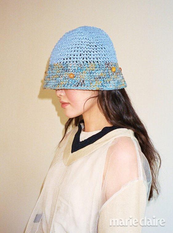 여름 버킷햇 동백꽃 공효진 모자