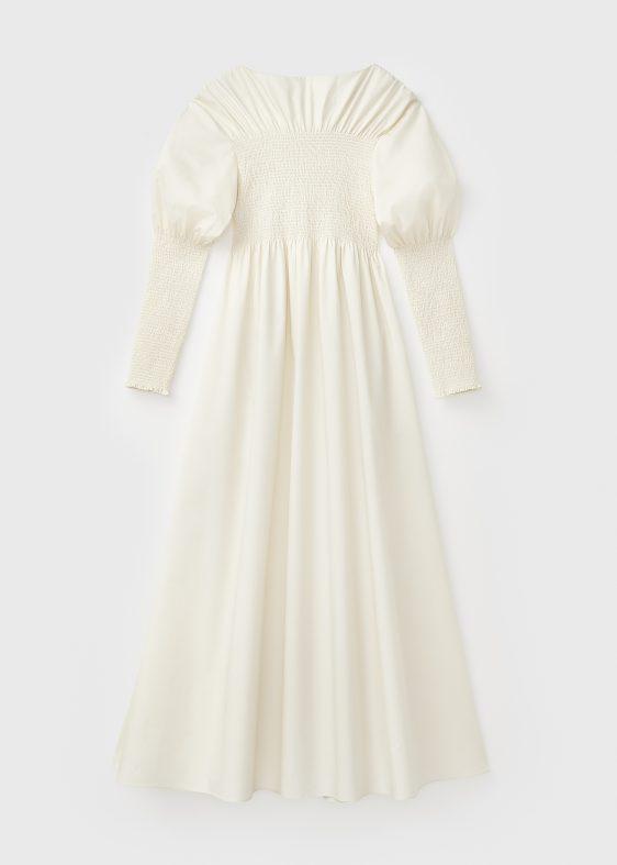 토템 드레스 스모크 드레스 스몰 웨딩 웨딩 드레스