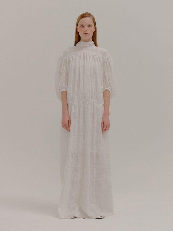 잉크 드레스 스몰 웨딩 웨딩 드레스