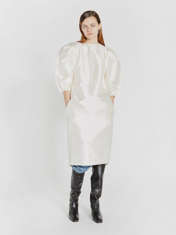 렉토 드레스 스몰 웨딩 웨딩 드레스 퍼프 드레스