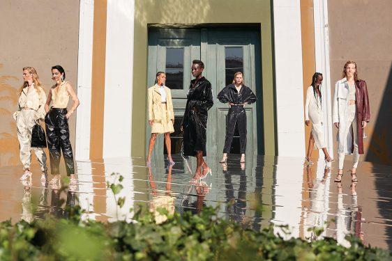 코펜하겐 패션위크 리메인 비르게르 크리스텐센 업사이클링 브랜드