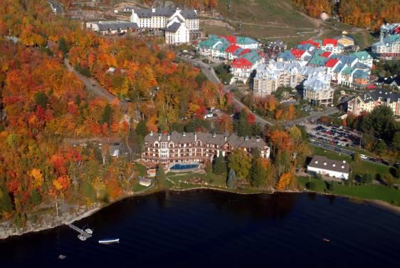 캐나다 몬트리올 북쪽에 위치한 몽트랑블랑(Mont-Tremblant)