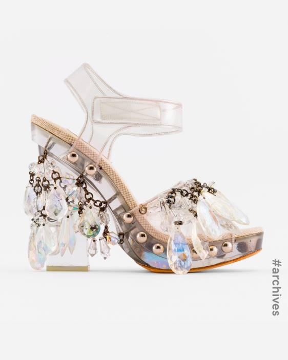 Prada Prada Archive Prada Shoes Prada Crystal Shoes 프라다 프라다 샹들리에 슈즈 프라다 슈즈 프라다 샌들 프라다 크리스탈 슈즈