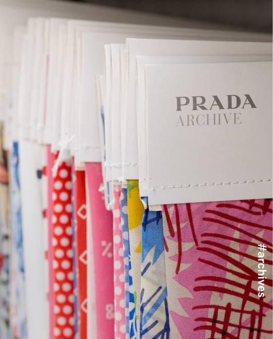 프라다 원단 프라다 패브릭 프라다 아카이브 Prada Archive Prada Print Prada Fabric