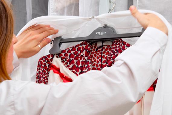 프라다 아카이브 프라다 스커트 플리츠 스커트 실크 블라우스 Prada Archive Prada Remix Prada Pleats Skirt