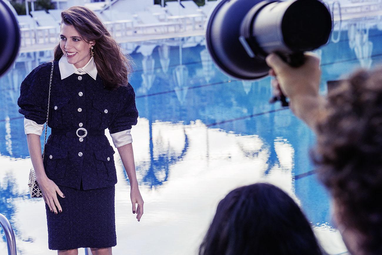 샤넬 샤넬앰배서더 샤넬모델 샤넬트위드재킷 샤넬수트 샤넬광고 Chanel ChanelFashion Chanel Spring Summer Charlotte Casiraghi Chanel Campaign