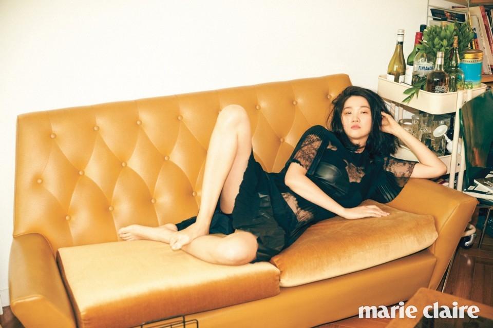 장윤주 화보 - 마리끌레르 2016년