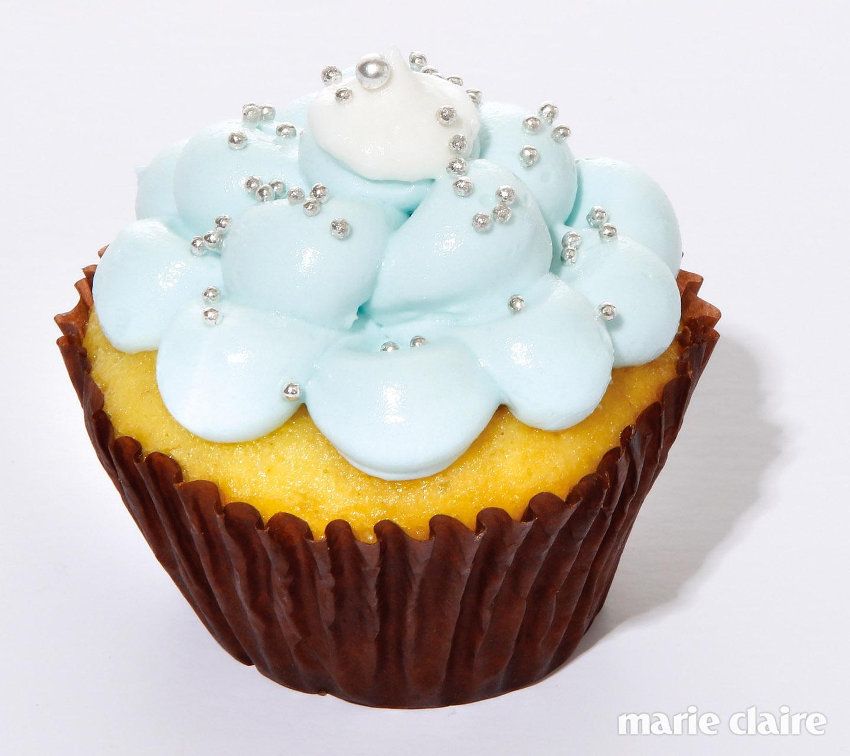 민트 맛 컵케이크